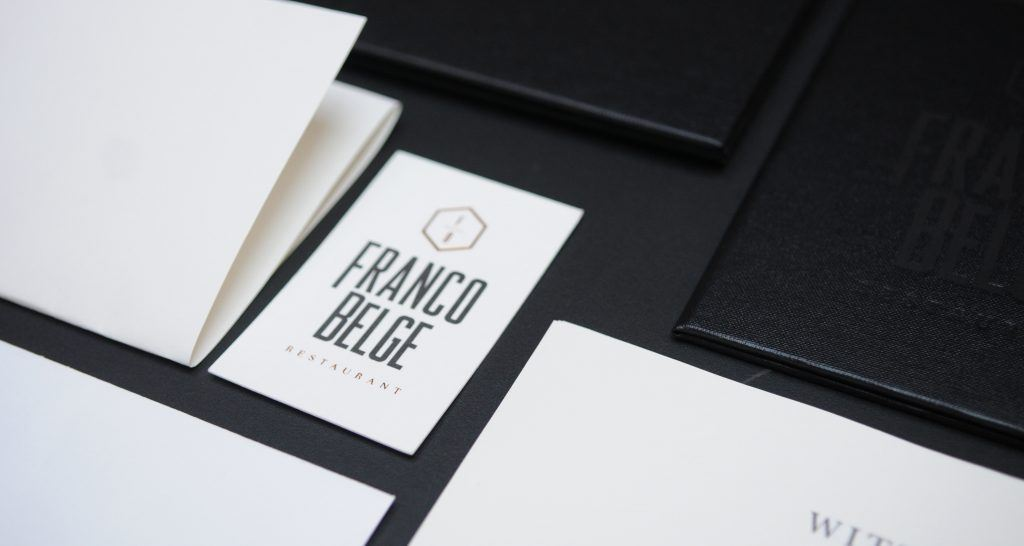 corporate identity franco belge
