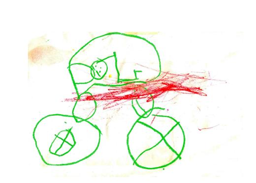 kindertekening met wasco