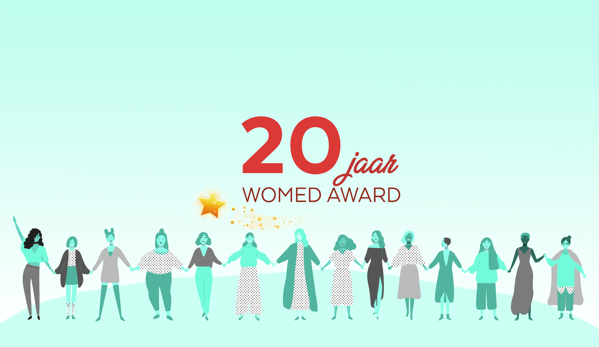 20 jaar WOMED award